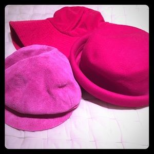 Juicy couture, Wilson's and Amanda Smith hats